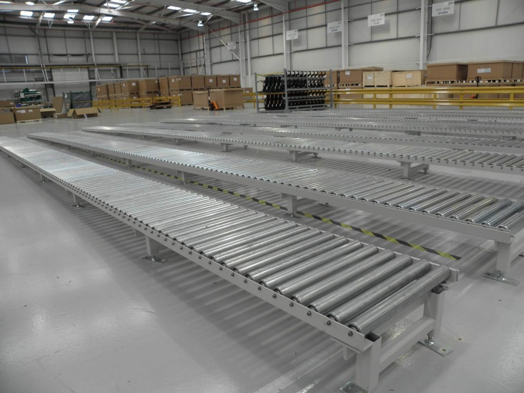 Gravity Roller Conveyors Gallery L A C Conveyors