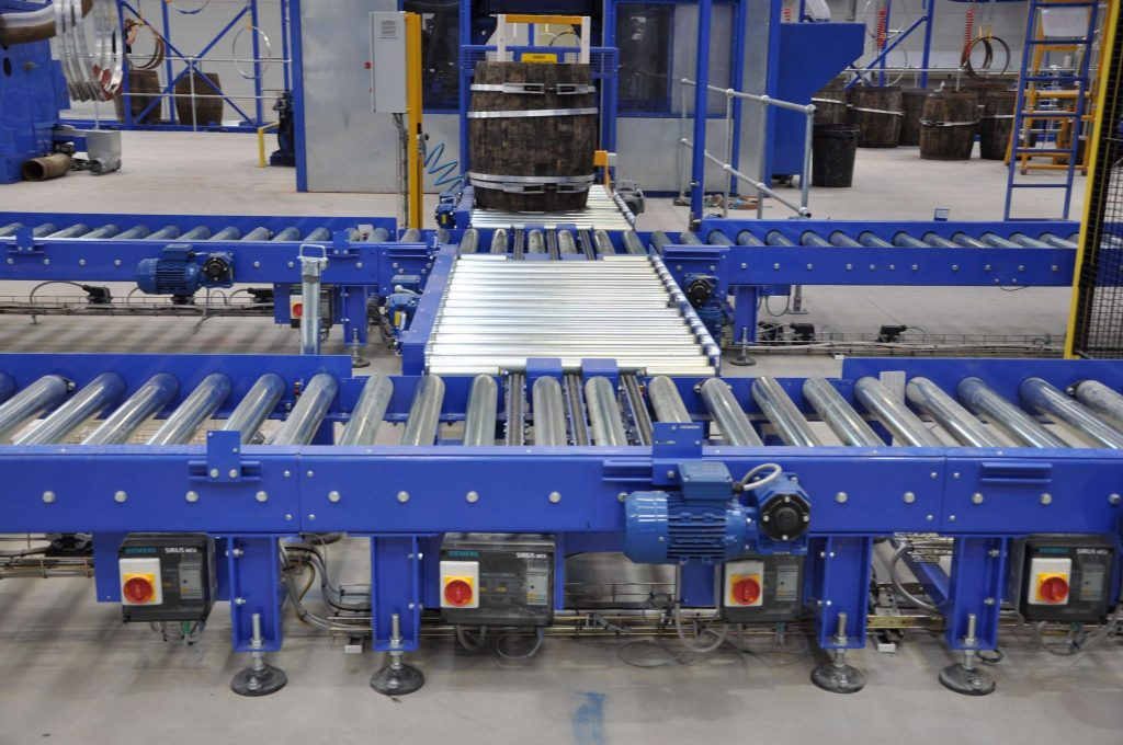 powered roller conveyor systems
