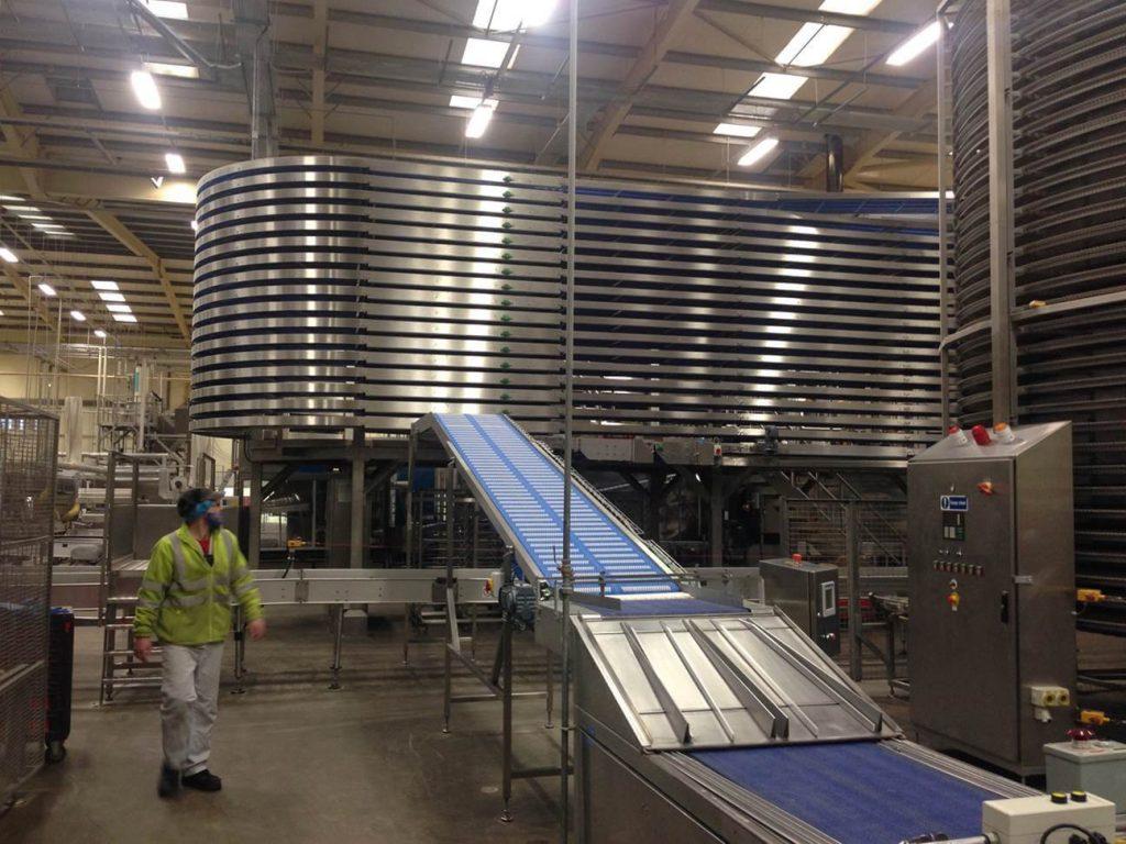Spiral Conveyors System Design Installation
