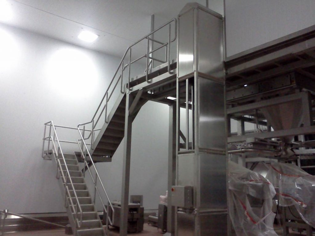 Stainless Steel Platforms Manufactured In The Uk L A C