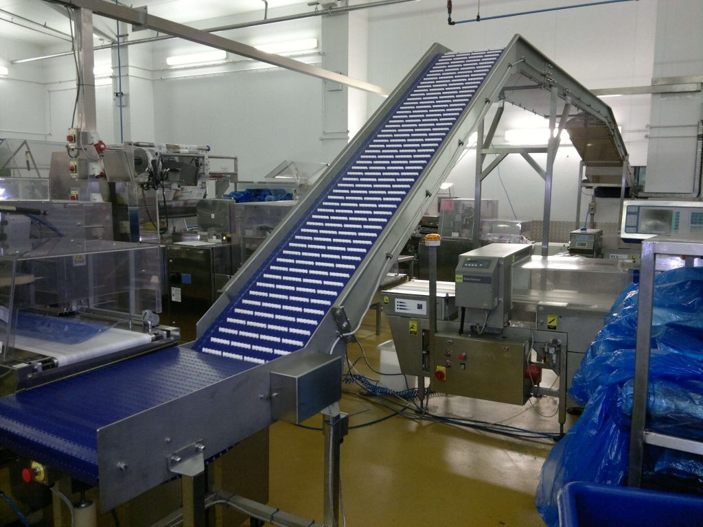 inclined belt & elevating conveyor systems