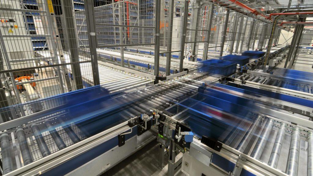 Tote Handling Conveyor System