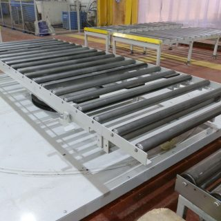 Photograph of a conveyor belt