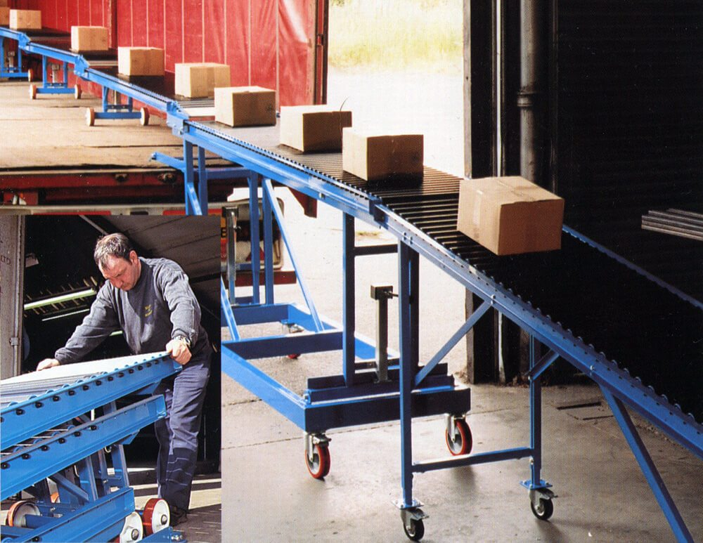 Gravity Roller Conveyor Systems L A C Conveyors