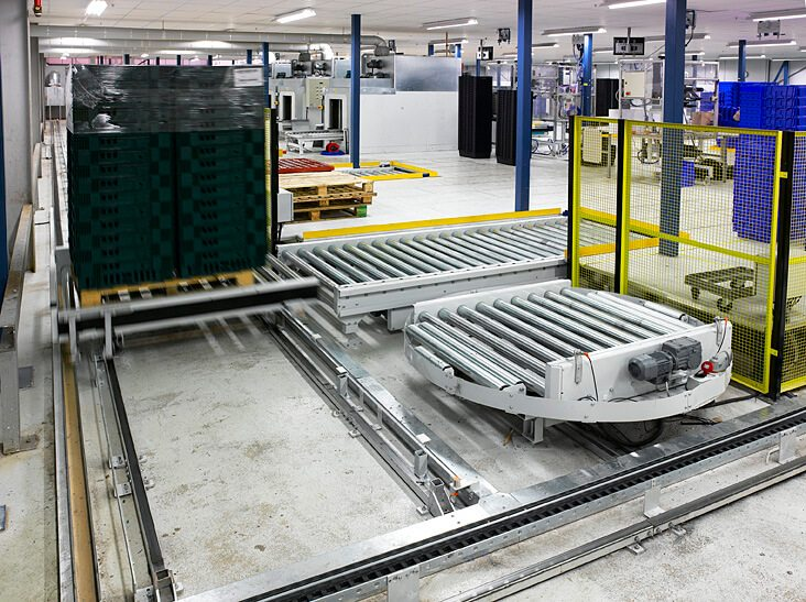 Pallet Conveyors And Pallet Handling Systems L A C