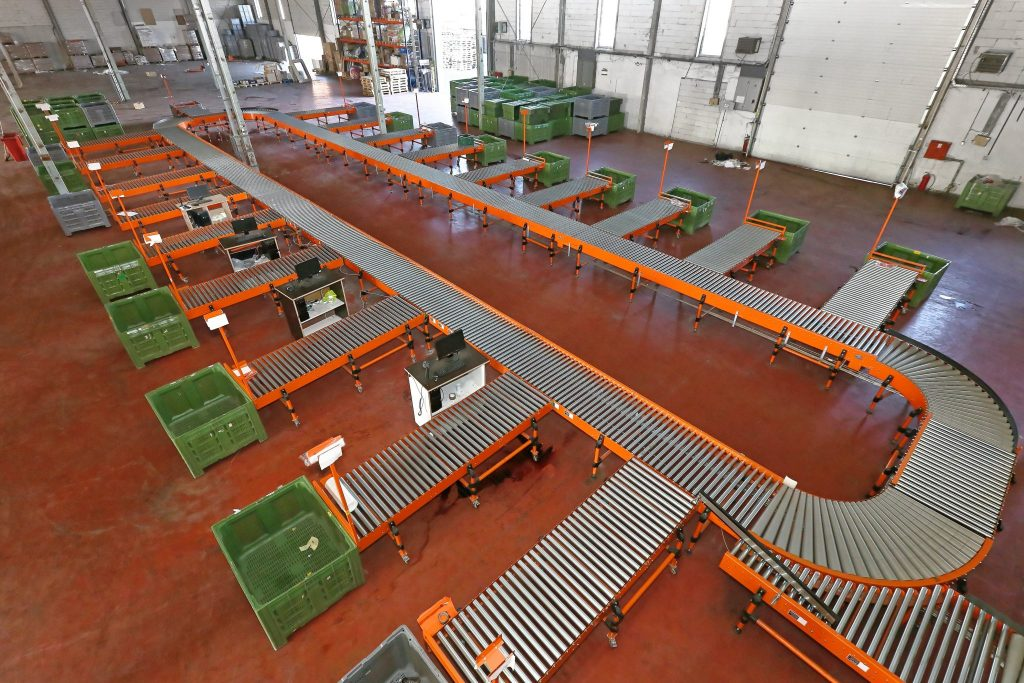 Carton Amp Tote Handling Conveyor Systems L A C Conveyors