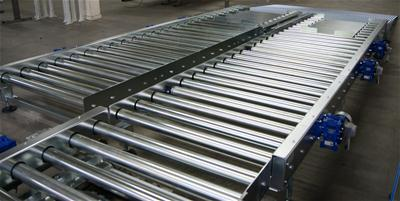 Stainless Steel Pallet Conveyor
