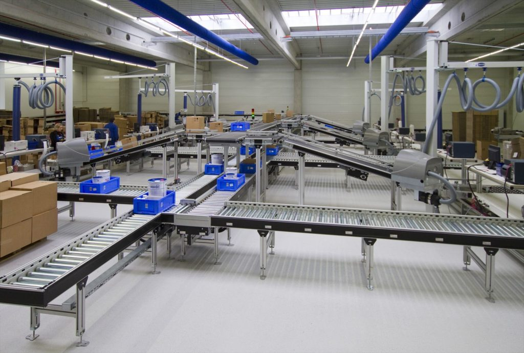 Tote Handling Gallery L A C Conveyors Amp Automation