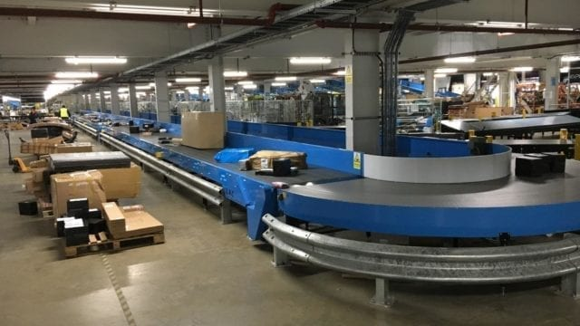 Hermes conveyor belt