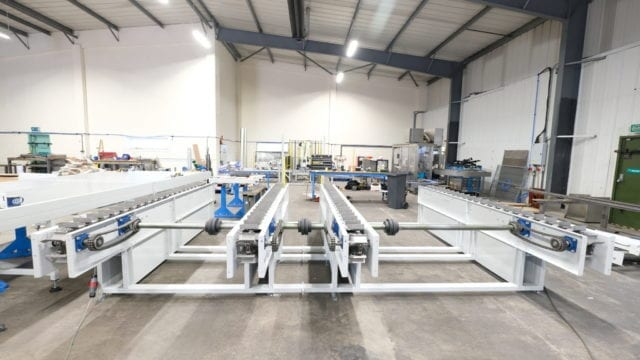 Bespoke Indexed Chain Conveyor