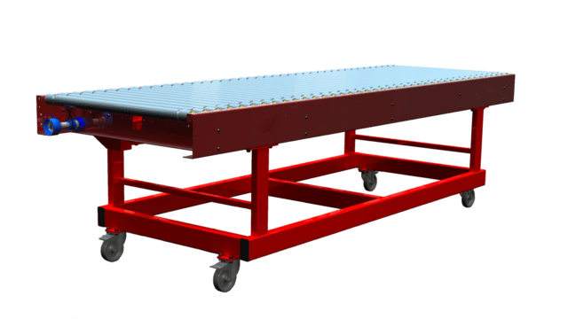 Mobile Line Shaft Conveyor