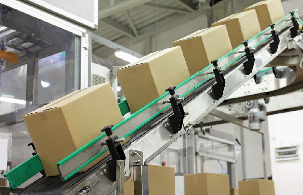 Powered Incline Parcel Handling