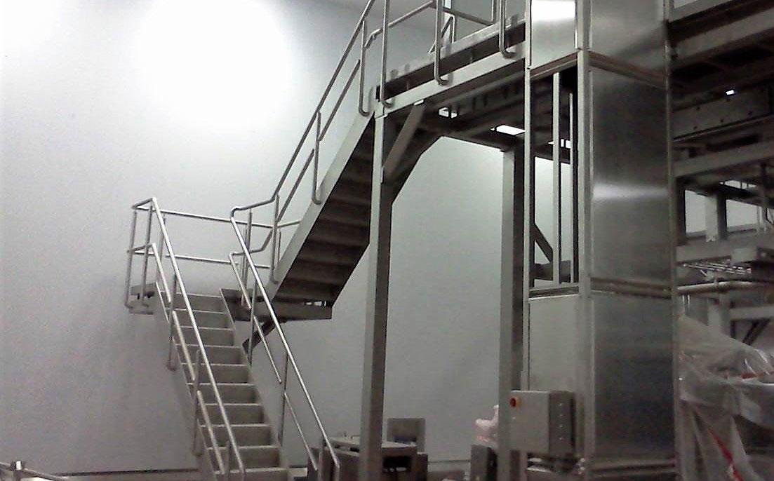 stainless steel food platform