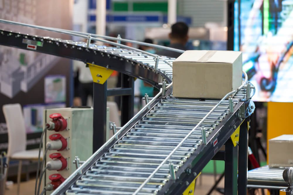 Roller Conveyors with Gravity