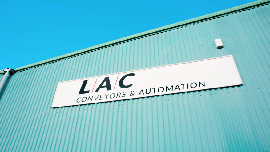 LAC Conveyors & Automation Building Sign
