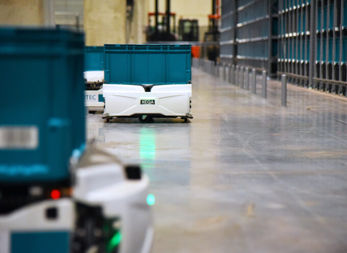 Robotic Goods-to-person system