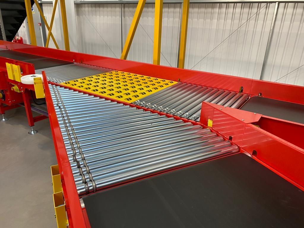 Parcel Handling Conveyor System