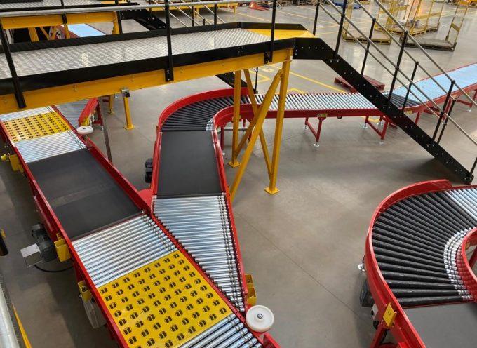 Conveyor System for Parcel Handling