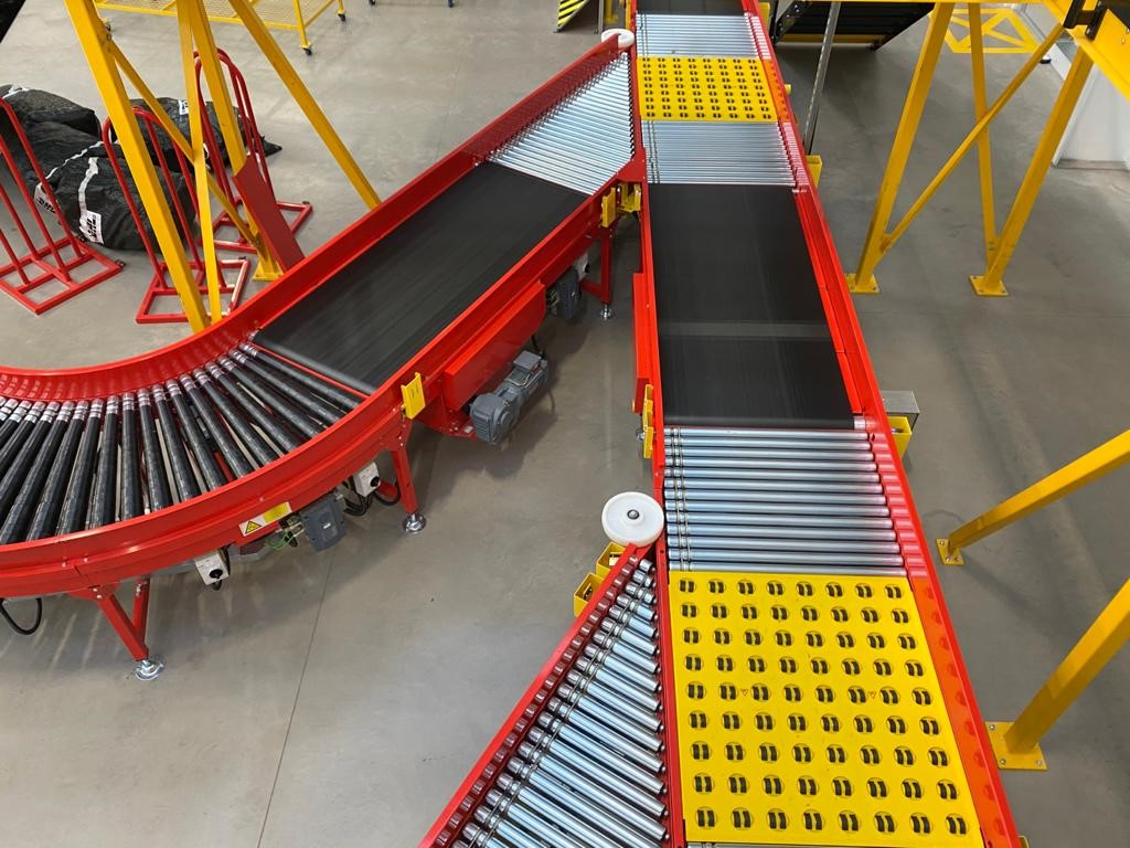 Conveyor system for sortation and parcel handling