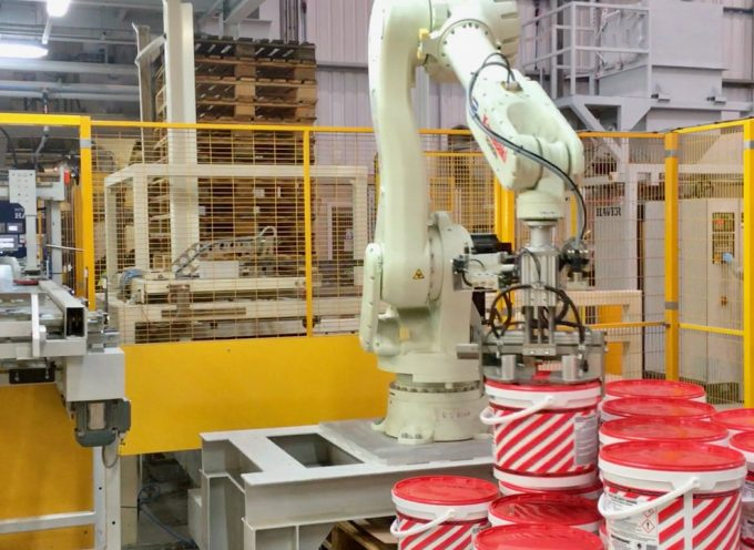 Robot palletising solution