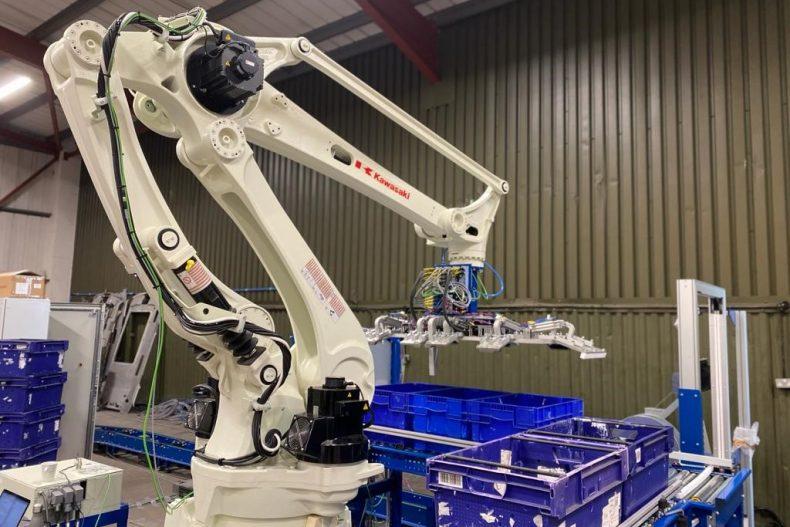 Logistex robotic palletising